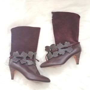 Ted Baker London Suede Leather Pull On Boots